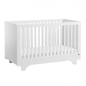 Crib 70 x 140 cm Playwood - White