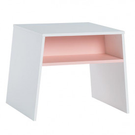 Table Tuli - White/Pink