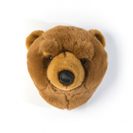 Trophy Head Brown Bear Oliver