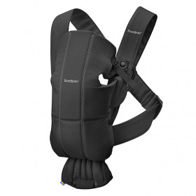 Baby Carrier Mini Cotton - Black