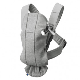 Baby Carrier Mini 3D Jersey - Light Grey