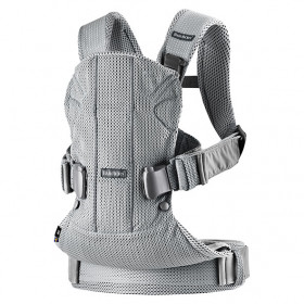 Baby Carrier Mesh - Silver