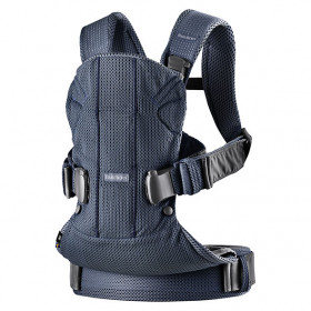 Baby Carrier Mesh - Navy Blue