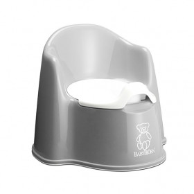 Potty Chair - Grey/White