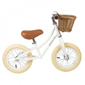 First Go Balance Bike - White