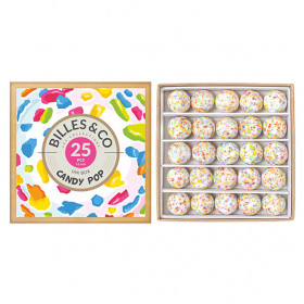 Box of 25 marbles - Candy Pop