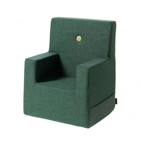 Kids Chair XL - Deep Green / Light Green