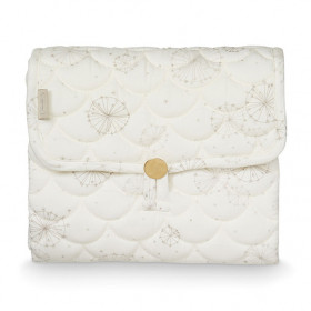 Travel Changing Mat - Quilted - Dandelion Natural