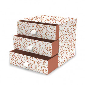 Mini Dresser - Caramel Leaves