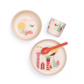 Bambino dish set for kids - Trees