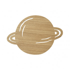 Planet Lamp - Oiled Oak