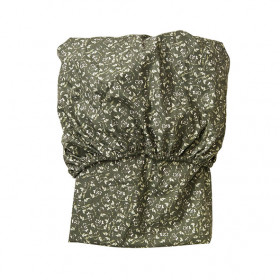 Fitted Sheet 60x120 - Floral Moss