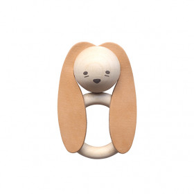 Wooden Teether - Rabbit