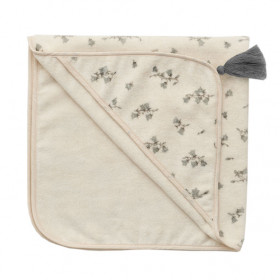 Baby Hooded Towel - Bluebell