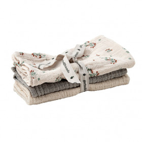 Set of 3 Muslin Cloth - Clover