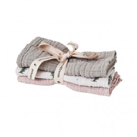 Set of 3 Muslin Cloth - Rosemary