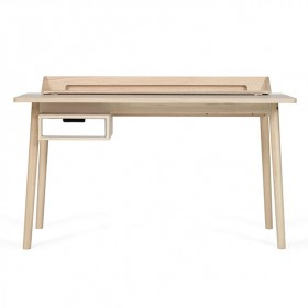 Honoré Desk - Oak & White