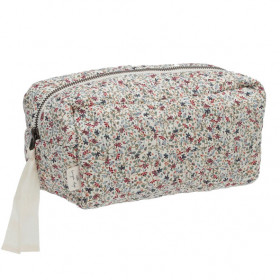 Quilted Toiletry Bag - Louloudi