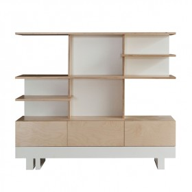 Roof Bookcase