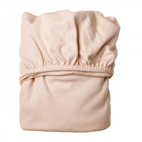 Set of 2 fitted sheets 60x120cm - Soft Pink