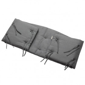 Bumper for Classic Cot - Cool Grey