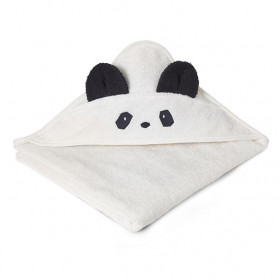 Kids Towel Hooded Panda - Crème