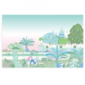 Walldecor Garden - Pink