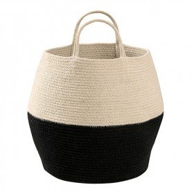 Zoco Basket 35 x 30cm - Black / Natural