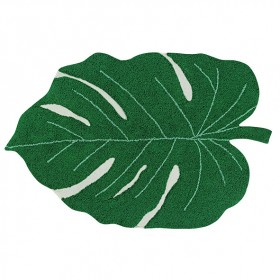 Plants Rug 120 x 160cm - Monstera Leaf