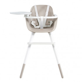 OVO High Chair Plus - Ice - Taupe