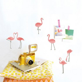 Just a touch - Pink Flamingos