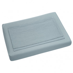 Changing Pad Fitted Cover - Sweet Blue