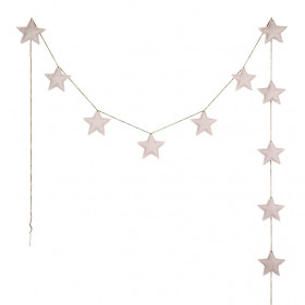 Mini Star Garland - Powder