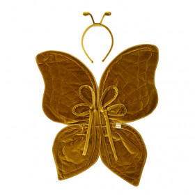 Butterfly Wings - One Size - Gold