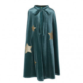 Merlino Cape - One Size - Teal Blue