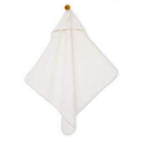 Bath Cape So Cute - White