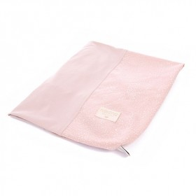 Changing Mat Cover Calma Bubble - Elements - Misty Pink / White