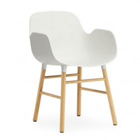 Form Armchair - Wood - Color to choose