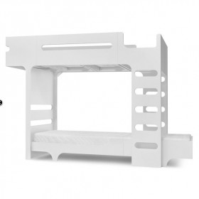 F&A Bunk Bed - White