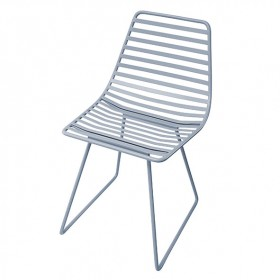 Metal chair Me-Sit - Blue - S