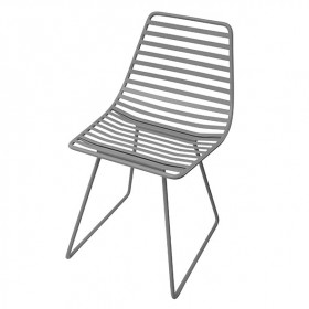 Metal chair Me-Sit - Grey - S