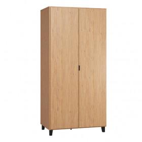 Wardrobe 2 Doors Simple - Oak