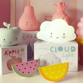 Mini Cloud Light - White White A Little Lovely Company