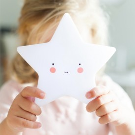 Mini Star Light - White White A Little Lovely Company