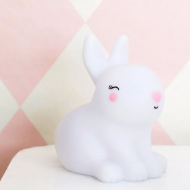 Mini Rabbit light  White A Little Lovely Company