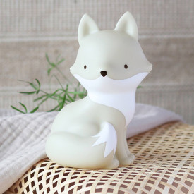 Mini Arctic Fox Light Grey A Little Lovely Company