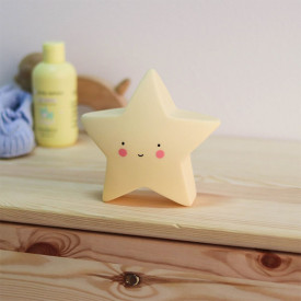 Mini Star Light - Yellow Yellow A Little Lovely Company
