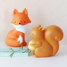 Mini Squirrel Light Orange A Little Lovely Company