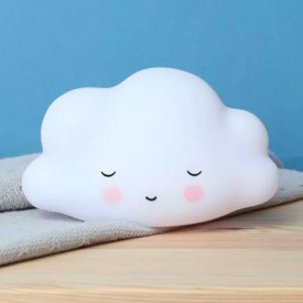 Mini Sleeping Cloud Light - White White A Little Lovely Company