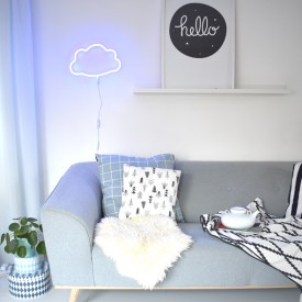 Neon Style Light Cloud - Blue Blue A Little Lovely Company